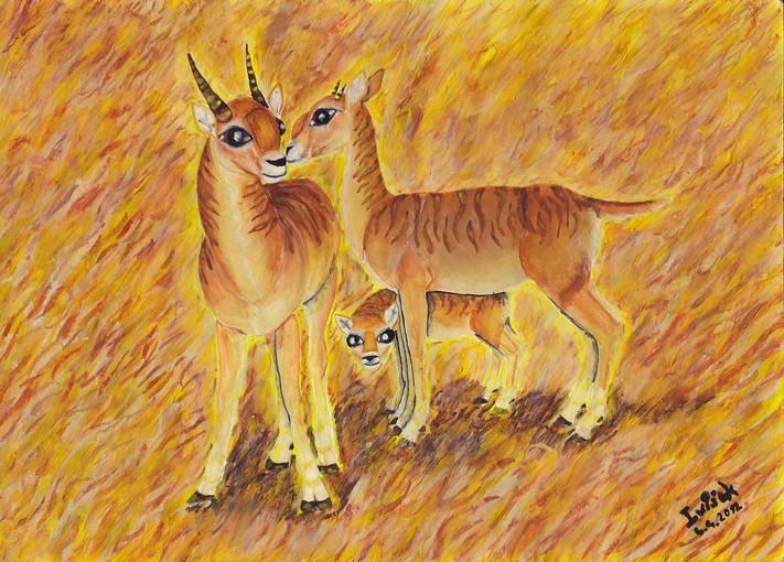 Antilopa Tajan Zbozi Prodejce Ivisek9 Fler Cz