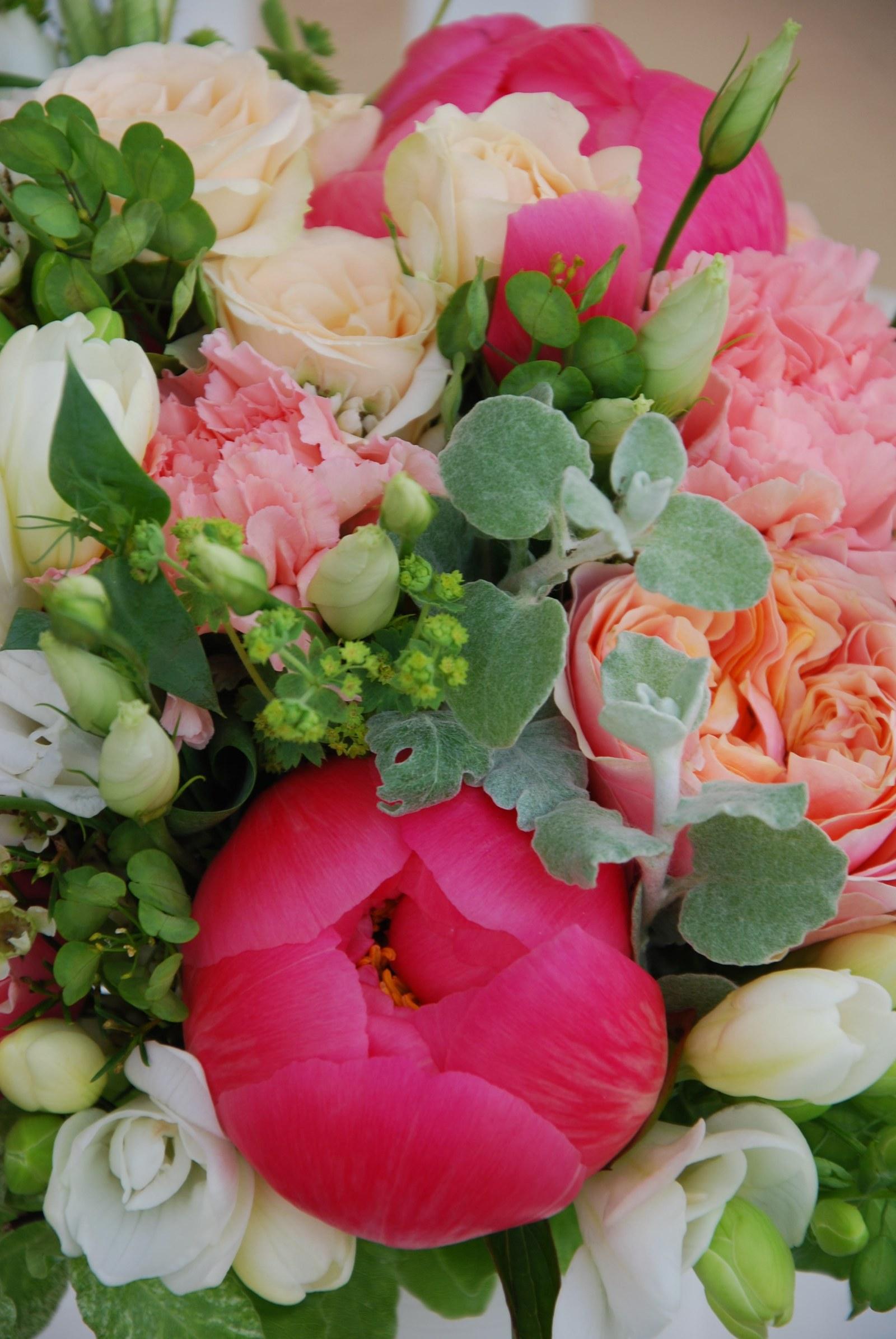 Pivonkova Svatba V Barve Lososove Zbozi Prodejce Flowers And