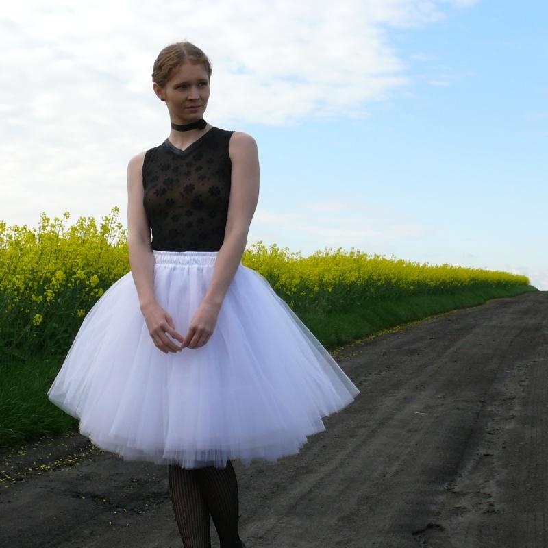 Bílá tylová sukně   Zboží prodejce Princezna Pampeliška  1197986298