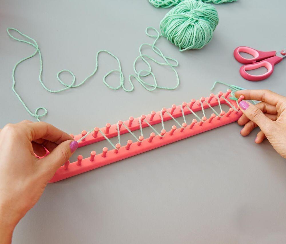 Rámeček na pletení nejen dutých šál   Zboží prodejce lenitka  b4493fd768
