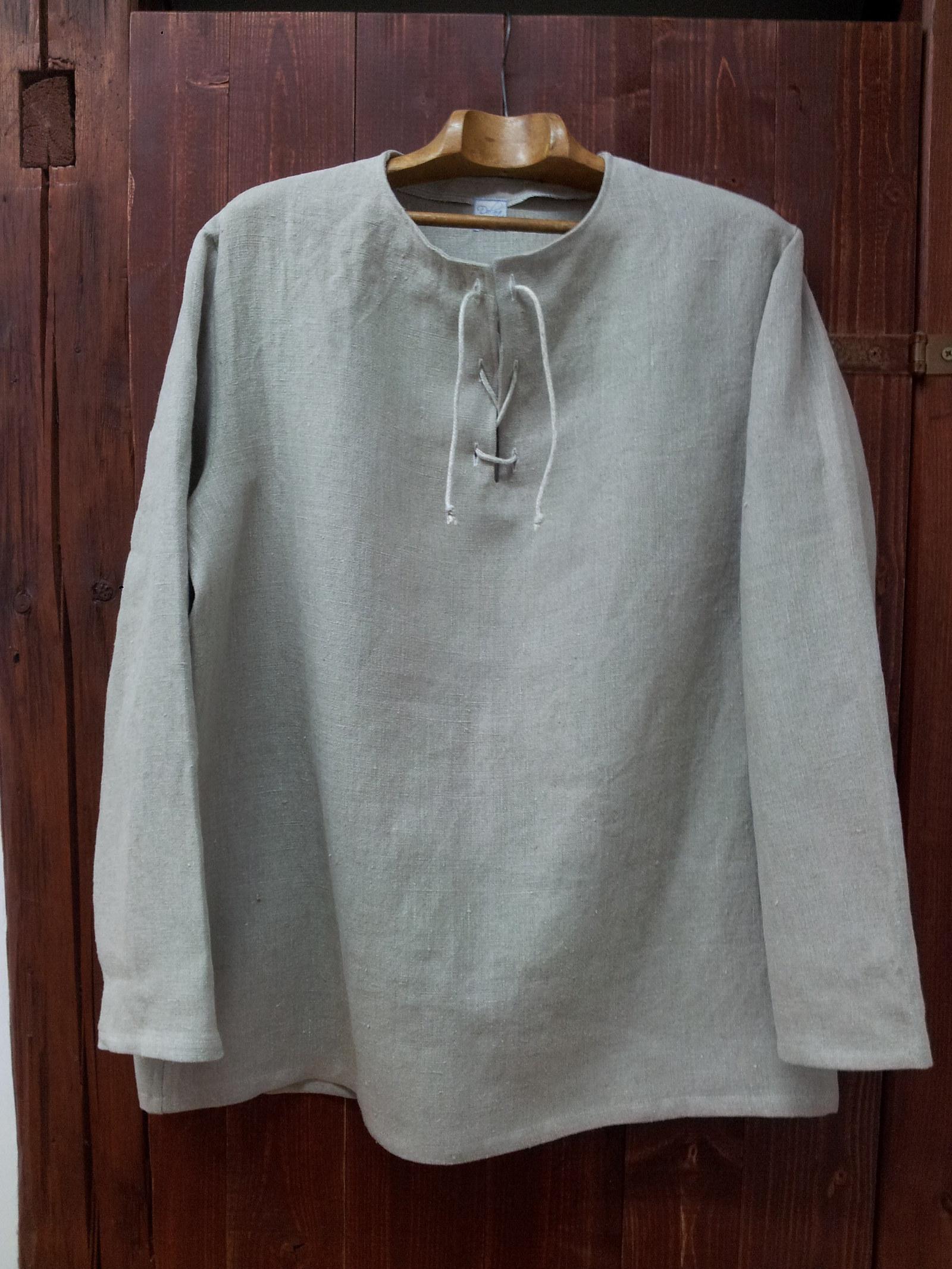 Pánská lněná košile ze 100% lnu XXL   Zboží prodejce dolna-eco  227dffefcc