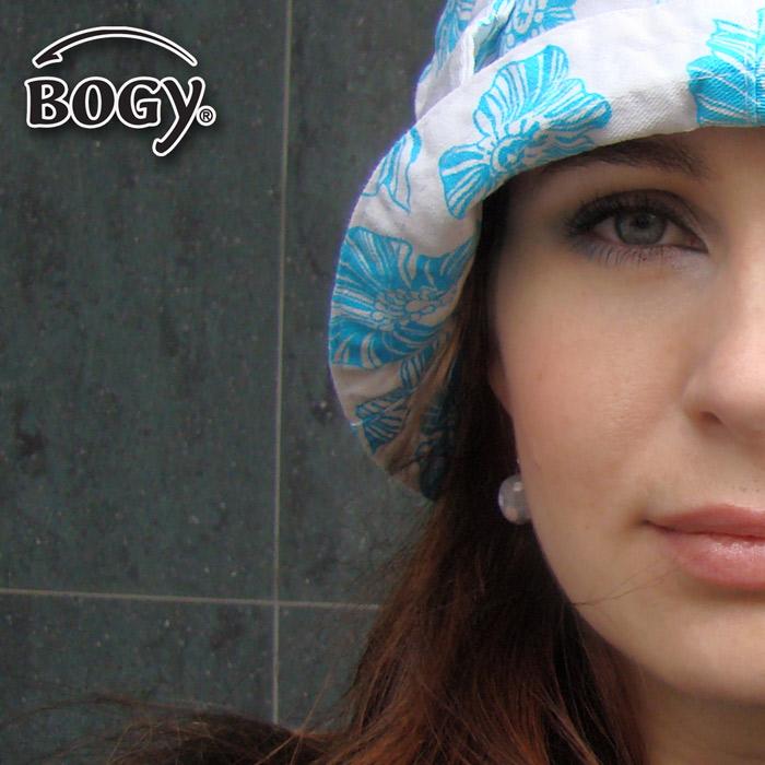 dámský letní klobouk modrý květ   Zboží prodejce BOGY - Janečková ... 8170e230ca