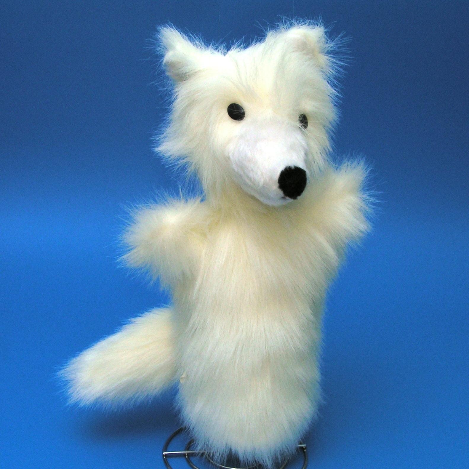 Liška polární - autorská hračka   Zboží prodejce Eva Korelusová ... 9ea5933201
