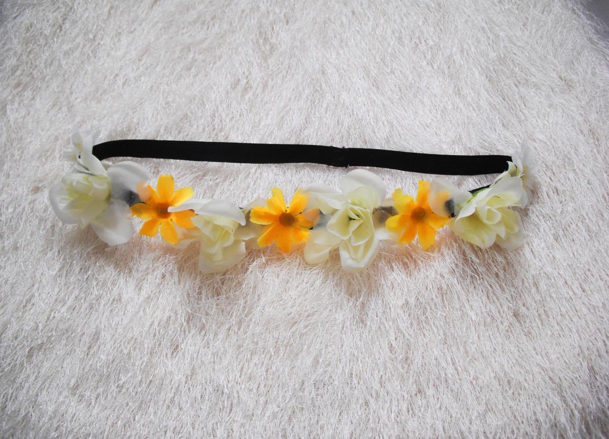 f770123100d Květinová čelenka - luční žluté kvítí   Zboží prodejce angelieenka ...