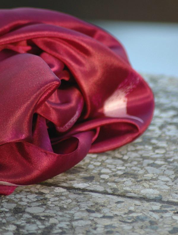d028897a617 Vínový malovaný hedvábný šátek   Zboží prodejce suzen