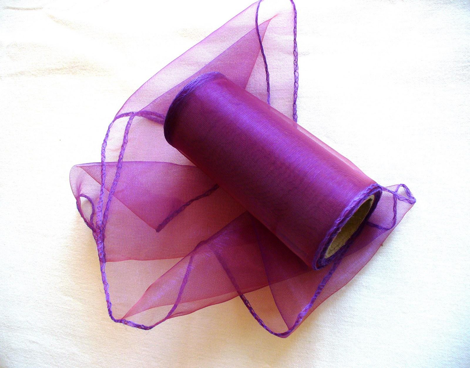 organza stuha 11cm- premenlivá zlato-fialová   Zboží prodejce dielko ... 048b5740ee9