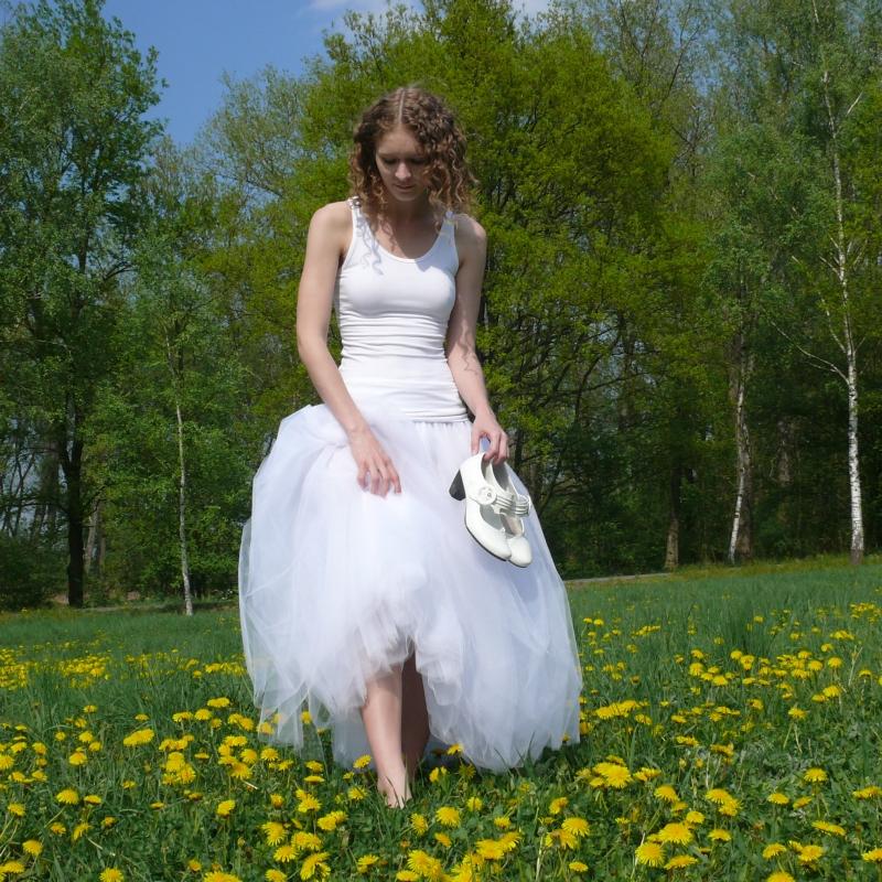 Bílá tylová sukně-SKLADEM   Zboží prodejce Princezna Pampeliška ... 4a65be9a12