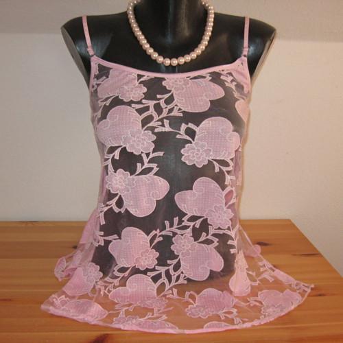 Košilka růžová  12828