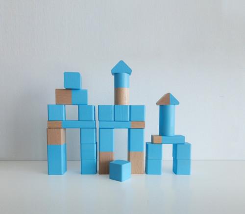 Dřevená stavebnice