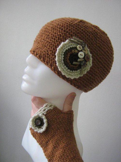 Čepice a návleky na ruce