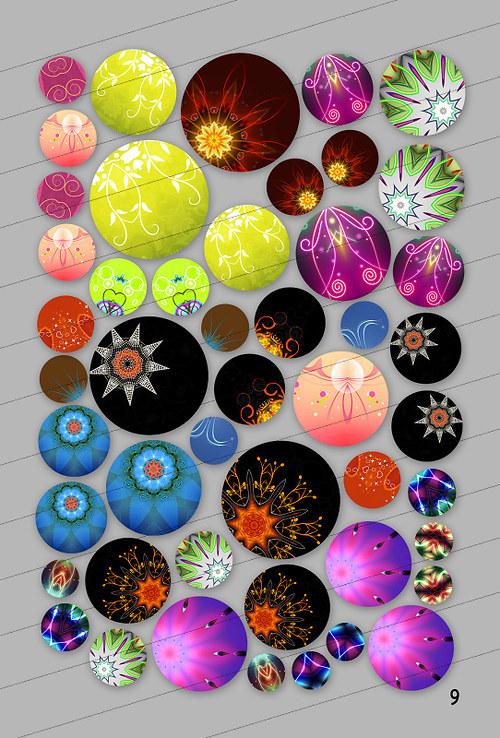 Motivy 25, 20, 18, 15, 12, 10, 8 mm (9)