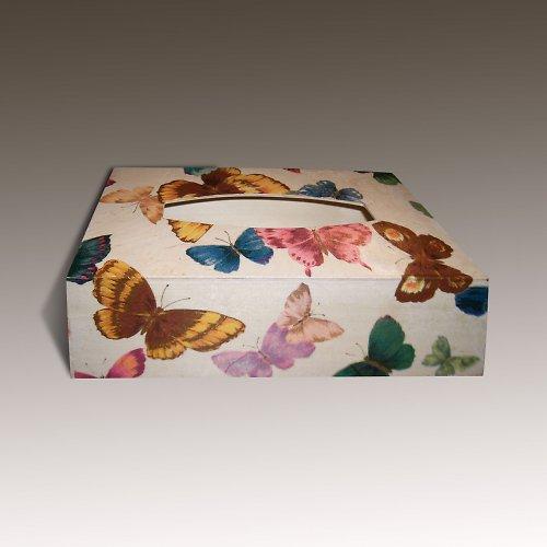 Motýlková krabička na kapesníky