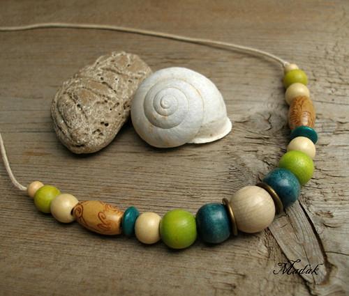 Kolekce Flowering wood LXII. ... náhrdelník