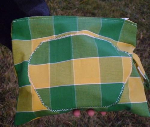 Plátěný pytlík nebo taštička nebo kapsička