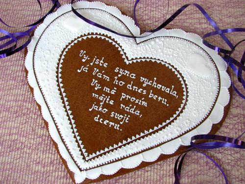 Velké svatební srdce