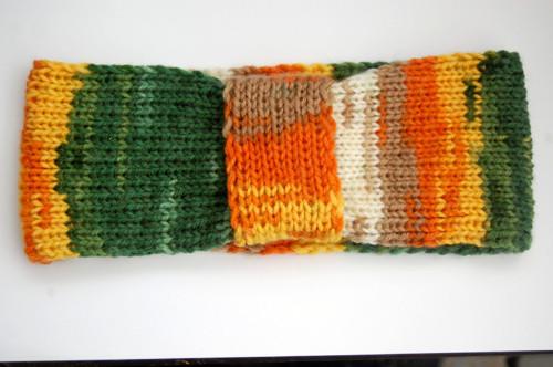 Pletená čelenka 2