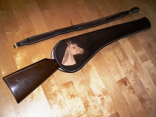 Holster na dlouhou zbraň Winchester Long, Short