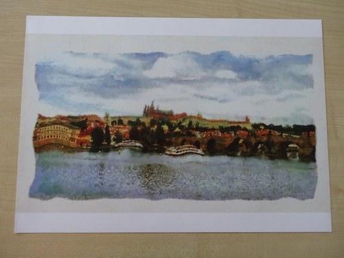 Praha v letní náladě