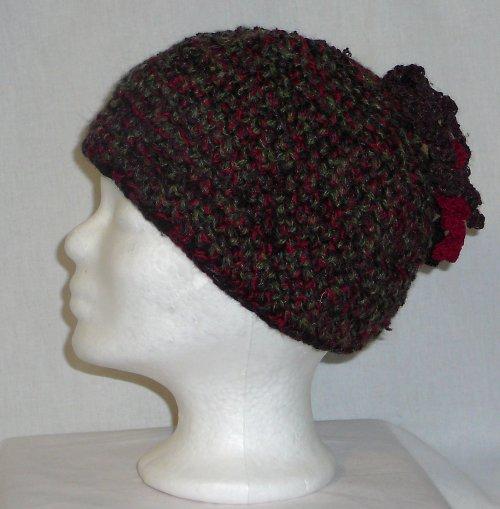 Čepice čtyřbarevná