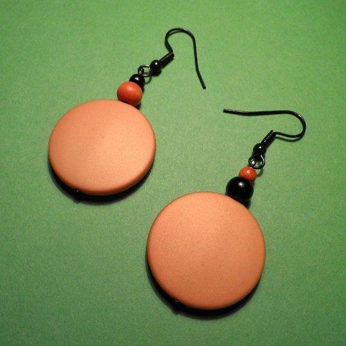 naušky placky oranžové