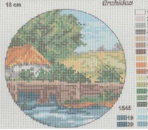 Obrázek k vyšití - gobelín