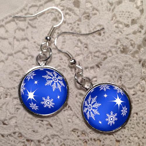 Vánoční nálada - modrá II.