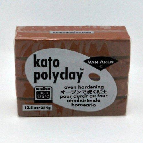 Kato Polyclay velké balení / Hnědá