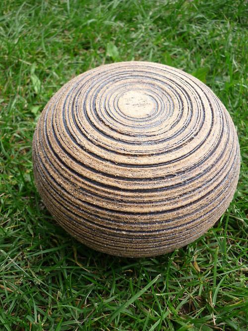 keramická koule zahradní-10 cm