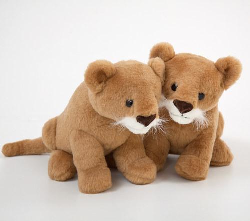 Lvíče sedící - autorská hračka