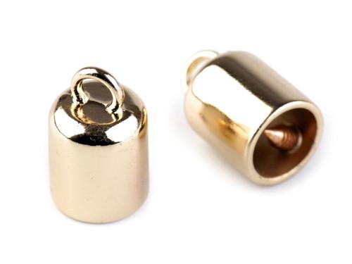 Kovová koncovka na šňůrky Ø8mm (2ks)