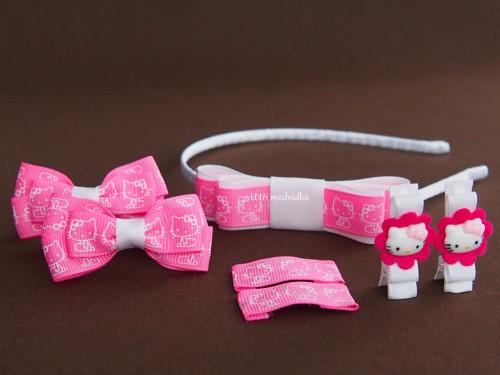 Nová kolekce v růžových barvách - čelenka