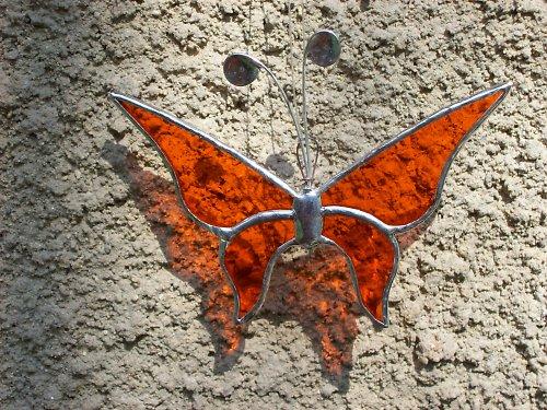 oranžový motýlek