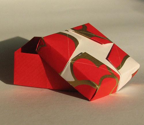 Valentýnská krabička s hvězdou větší