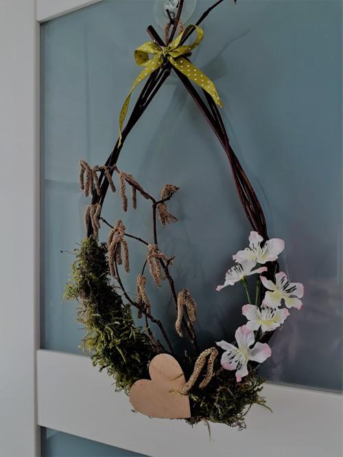 velikonoční dekorace oválná