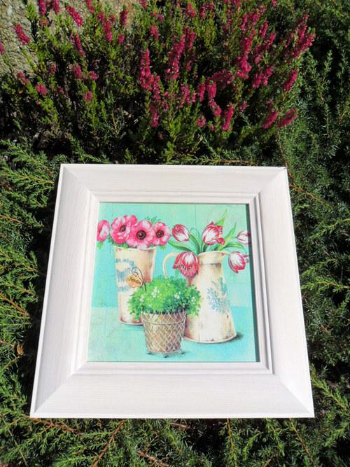 """Obrázek \""""květinové zátiší\"""""""