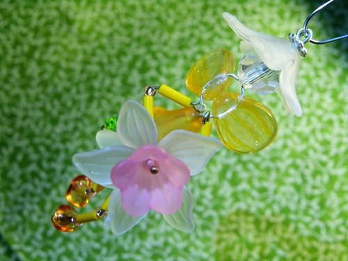 Hasička IX. - víla motýlí s narcisem - Fairy