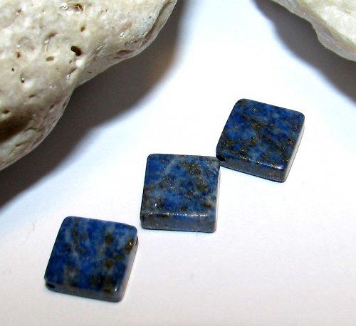 LA197 - Lapis lazuli - kosočtverec 10 mm