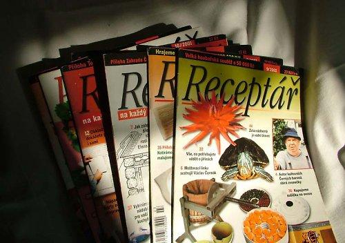 Receptář - časopis, sleva