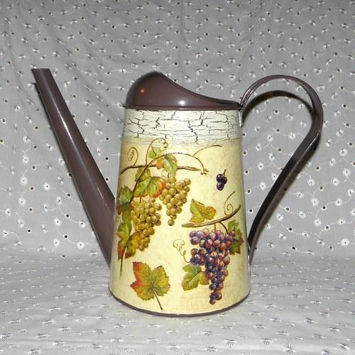 Konvička - hroznové víno