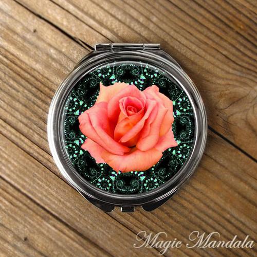 Zrcátko Mandala Růže