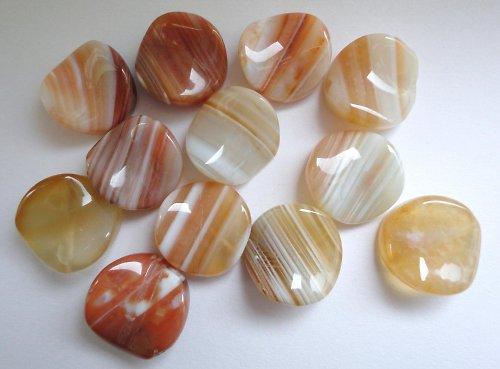 Minerál karneol - placička - plastická