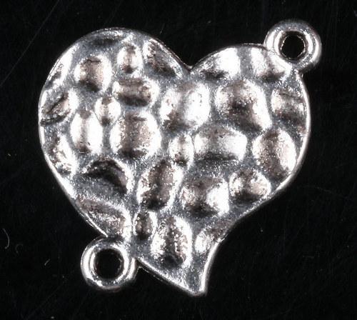 Konektor ve tvaru srdce