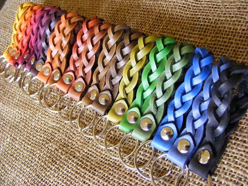 Klíčenka pletená