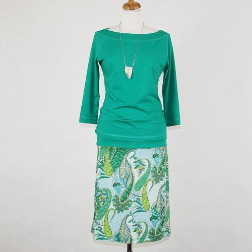 Krátká sukně - Do zelena