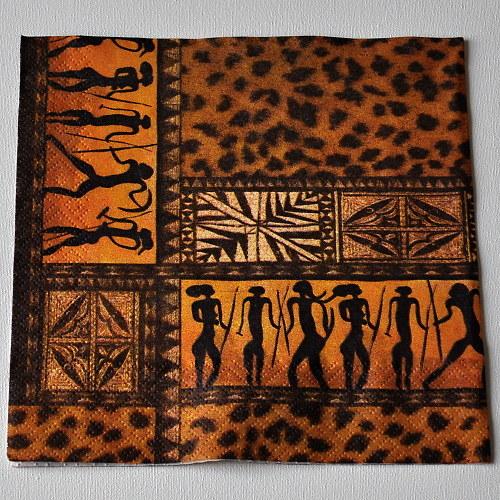 Ubrousek - Africké motivy
