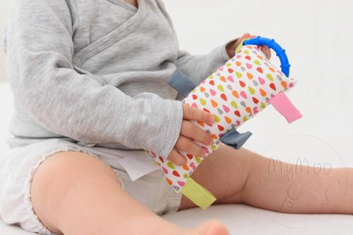 Montessori úchopový vankúšik - kvapky