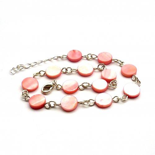 Růžový perleťový nákotníček