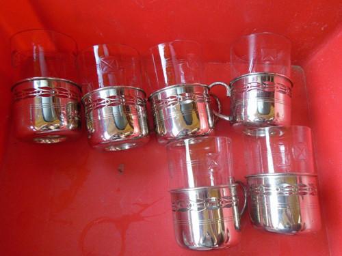 Prodám 6x stará sklenice