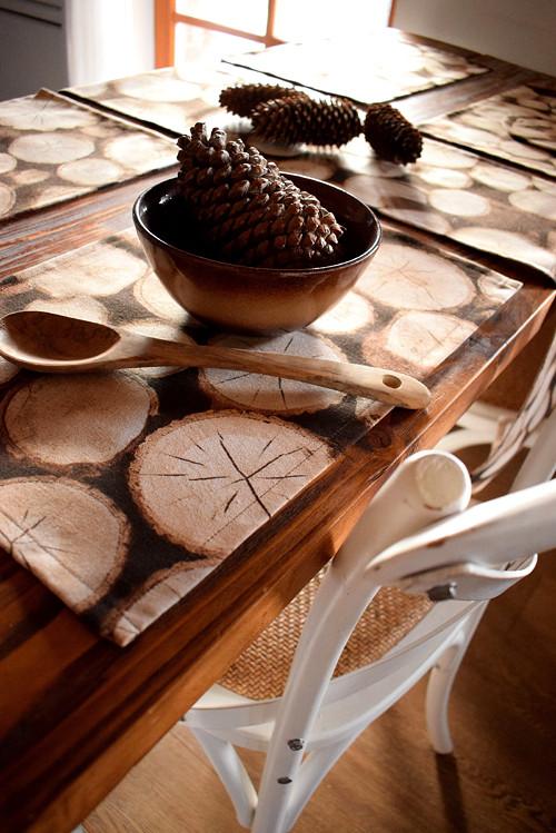 Prostírání - dřevo