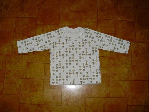 Dětské tričko s dlouhým rukávem-různé vzory